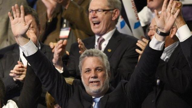 Philippe Couillard est le nouveau chef du Parti libéral du Québec