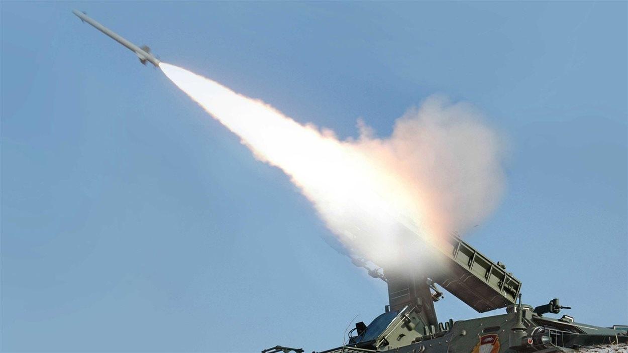 Lancement d'un missile en Corée du Nord le 20 mars 2013