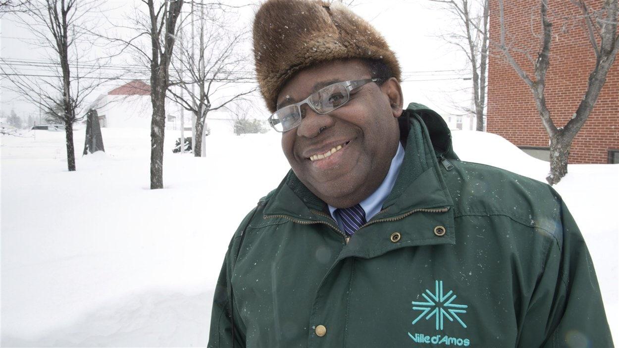 Ulrick Chérubin, maire de la ville d'Amos au Québec