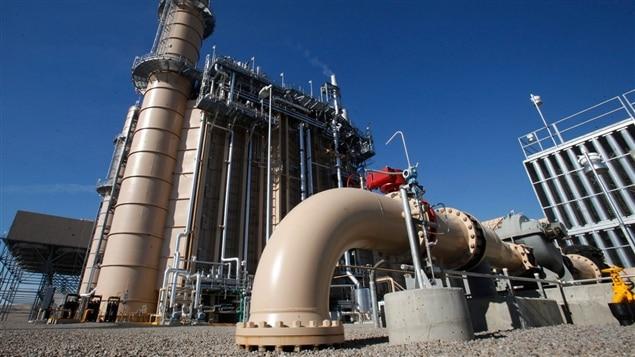 Usine de gaz naturel b cancour le projet pr sent la for Lien dans une nouvelle fenetre