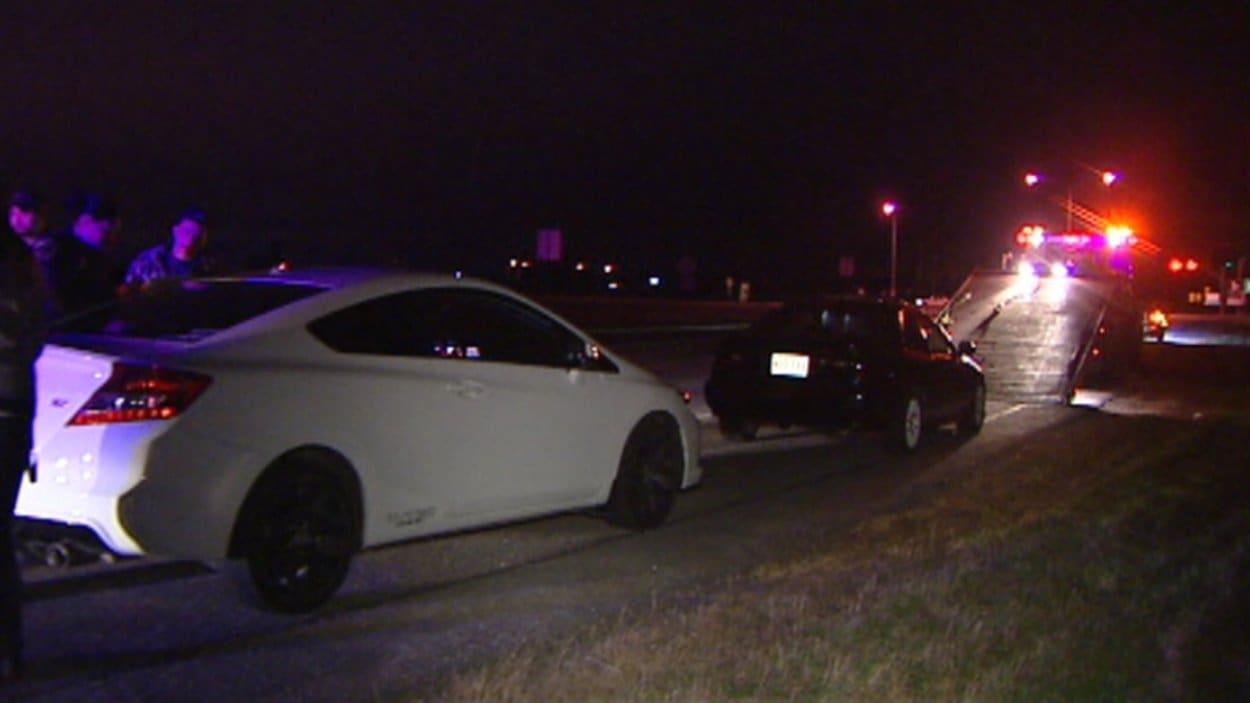 Deux arrestations pour course de rue sur l autoroute à gatineau