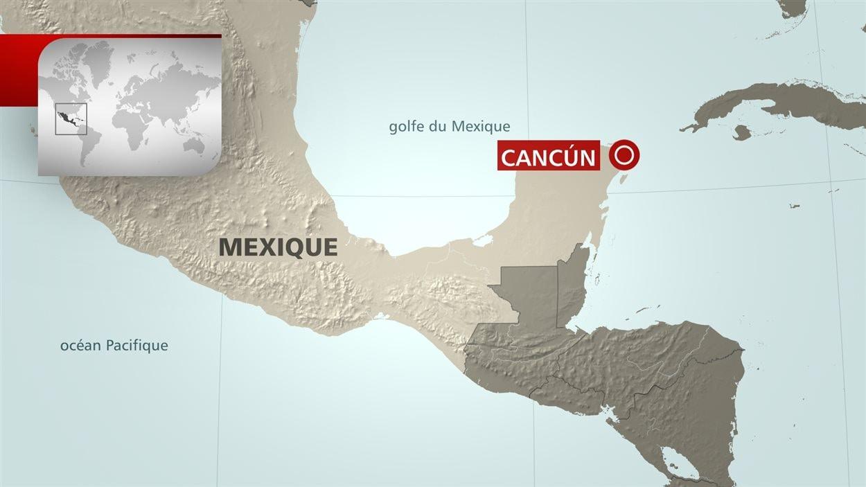Un Ontarien se noie pendant ses vacances à Cancun au Mexique | ICI