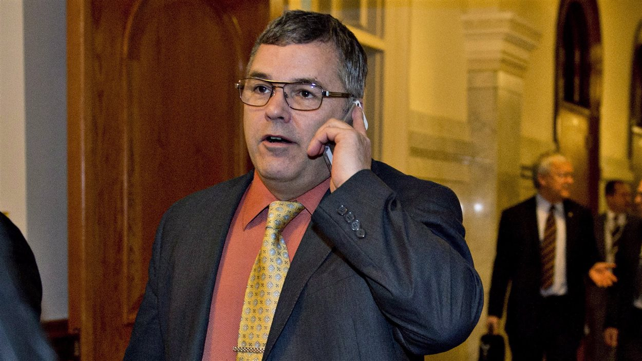 Le député Daniel Breton