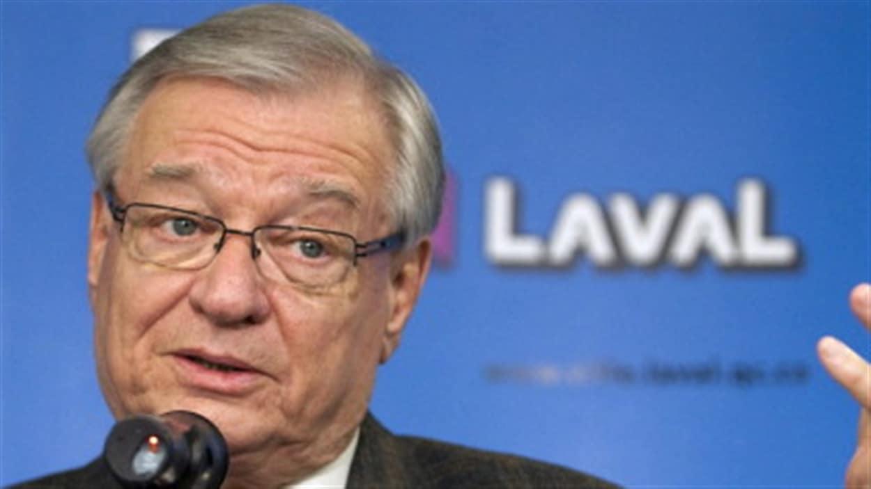 Gangstérisme :le maire de Laval Gilles Vaillancourt.