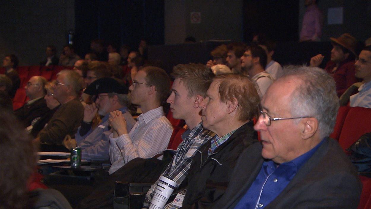 Les militants souverainistes réunis à Montréal pour le congrès de la Convergence nationale
