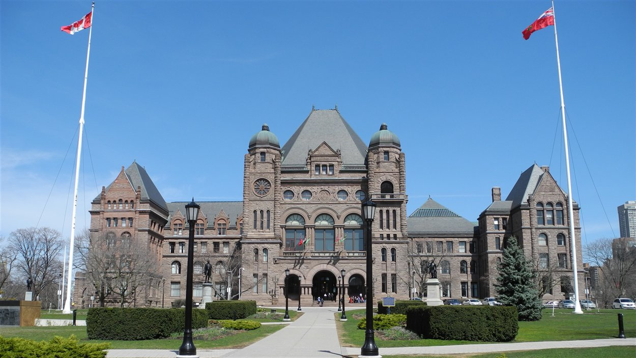 L'Assemblée législative à Toronto (archives)