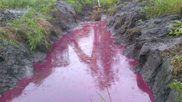 Un déversement d'environ 13 000 litres de diesel s'est produit lors du déraillement d'un train près de Lac-Mégantic