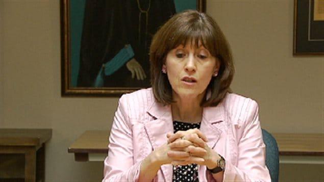 Marie-Linda Lord, vice-rectrice aux affaires étudiantes et internationales de l'université de Moncton