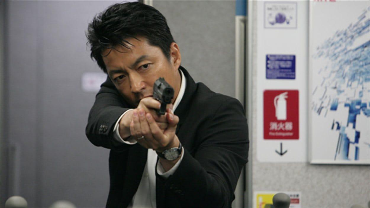 Une scène du film Shield of straw de Takashi Miike