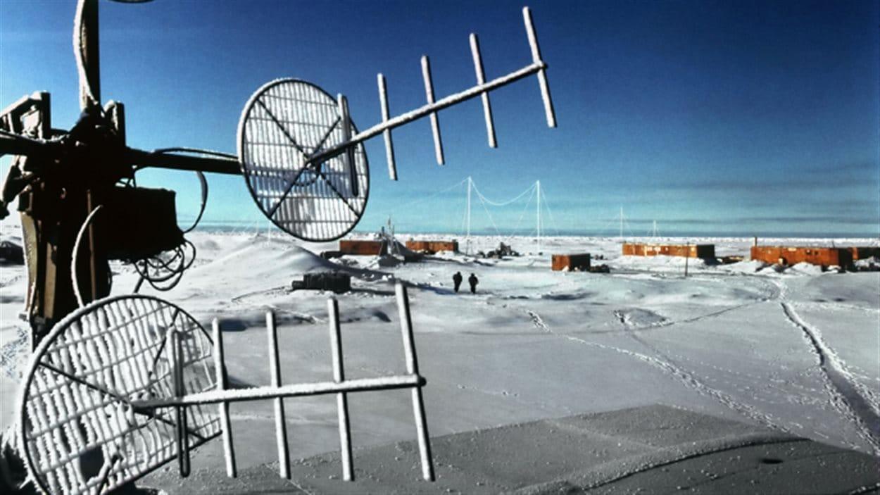 Paysage de l'Arctique