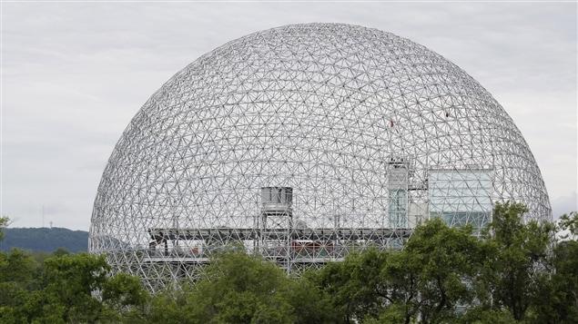 La biosphère de Montréal.  Photo : iStock