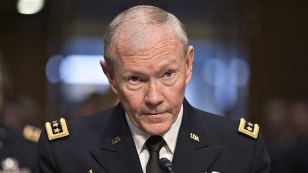 Le général Martin Dempsey, chef d'état-major de l'armée américaine