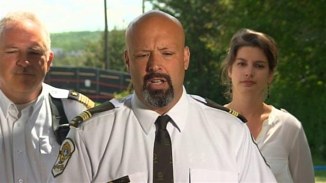 Le lieutenant Guy Lapointe de la Sûreté du Québec
