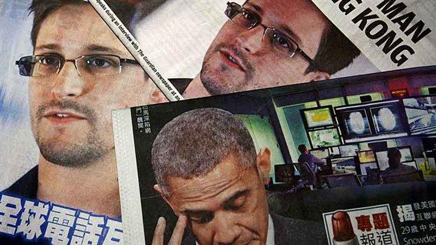 Snowden à la une des journaux