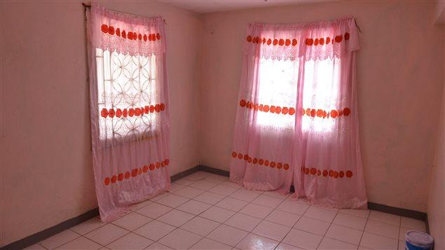 La chambre où vivait Dwayne Jones