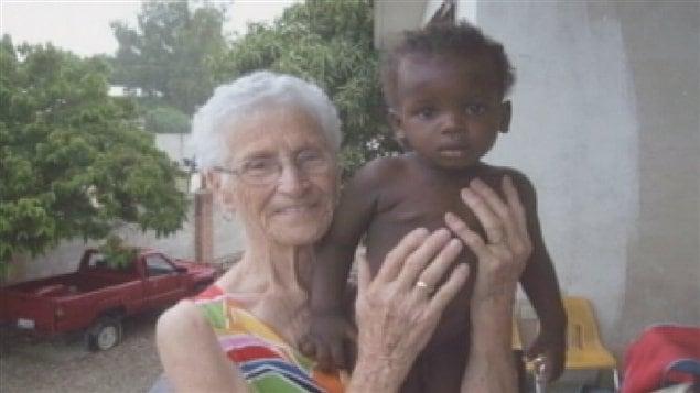 Jacqueline Lessard et «timoun» Jonas