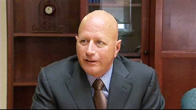 André Richard, avocat du gouvernement du N.-B.