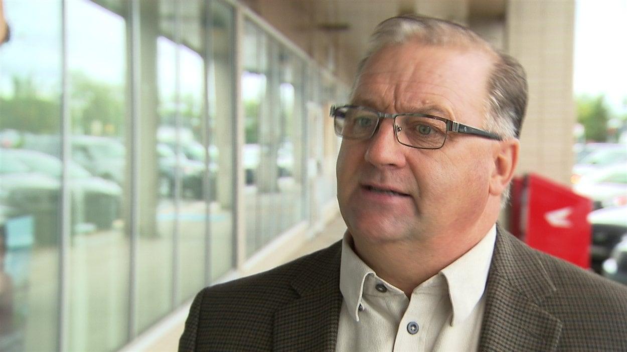 Rodrigue Vigneault, candidat à la mairie de Sept-Îles