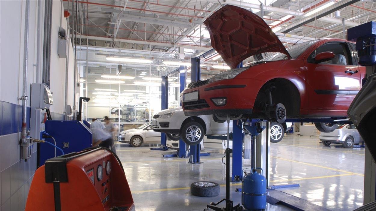 Sgi veut une hausse de 5 2 des primes d 39 assurance ici for Assurance voiture au garage