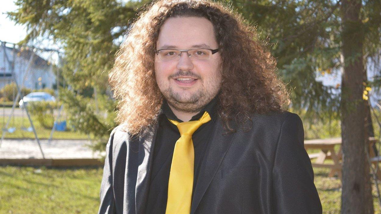 Alexandre D. Nickner, le maire le plus jeune au Québec