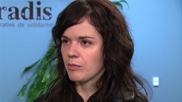 La directrice générale du Conseil de la culture du Bas-Saint-Laurent, Julie Gautier