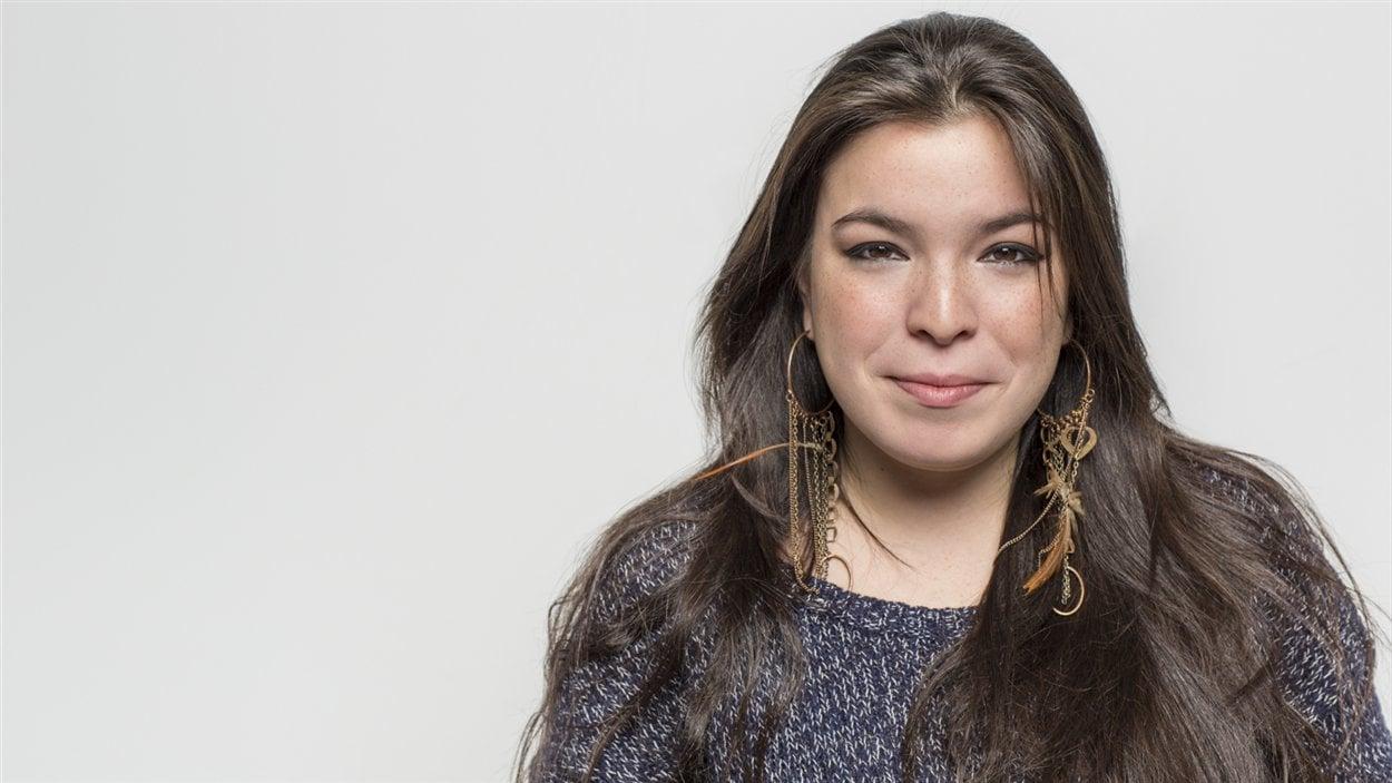 La poète innue Natasha Kanapé Fontaine