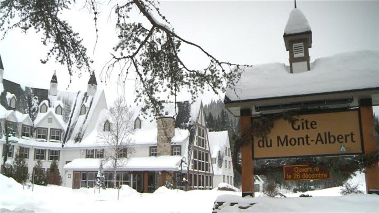 La saison hivernale 2013-2014 s'annonce bonne pour le Gîte du Mont-Albert.
