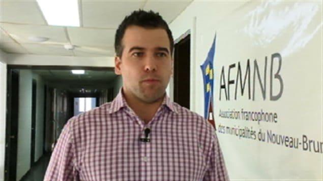 Frederick Dion, directeur général de l'Association francophone des municipalités du Nouveau-Brunswick
