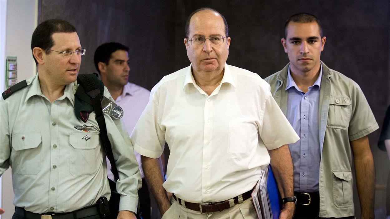 Le ministre israélien de la Défense, Moshe Yaalon