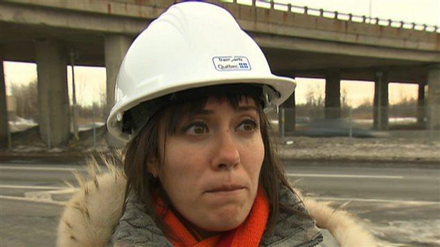 Sarah Bensadoun, porte-parole du ministère des Transports