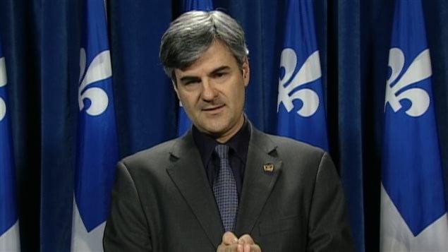 Le député de la CAQ, Éric Caire