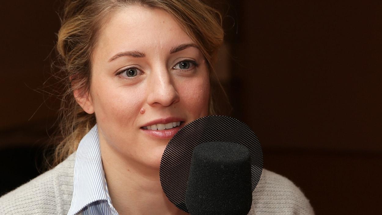 La politicienne Mélanie Joly