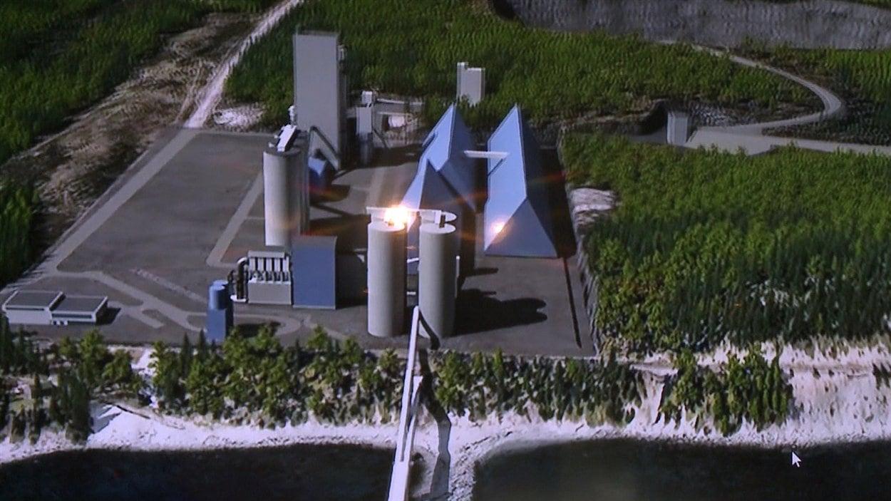 Le projet de cimenterie de Port-Daniel-Gascons
