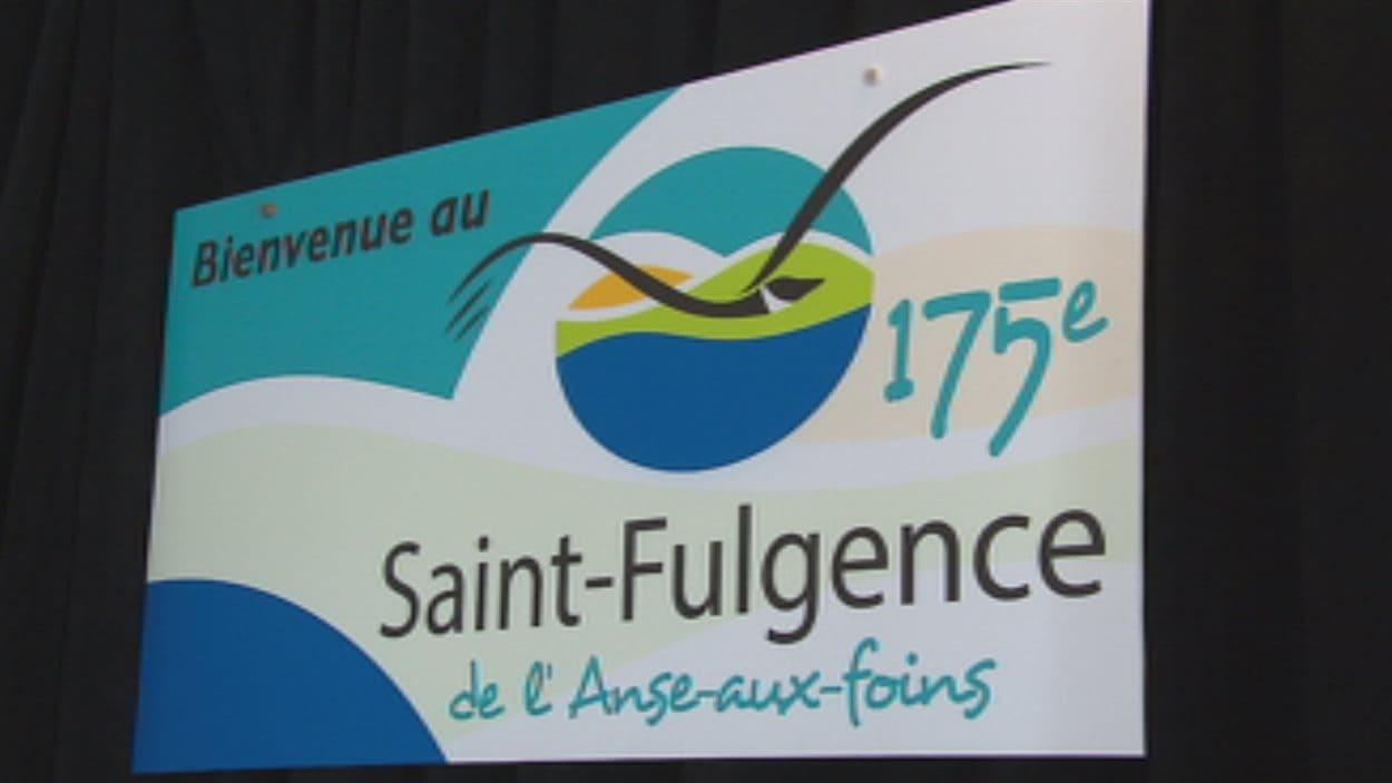 L'affiche des fêtes du 175e de Saint-Fulgence