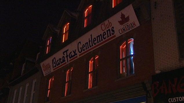 Façade du Club BareFax à Ottawa