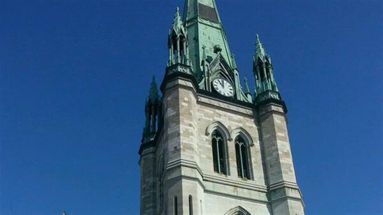 La cathédrale de Trois-Rivières