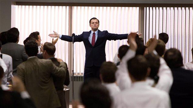 Une scène du film Le Loup de Wall Street, réalisé par Martin Scorsese