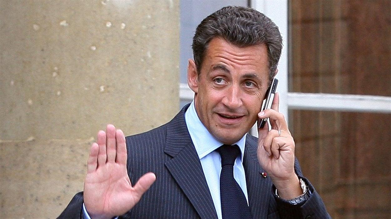 L'ex-président français, Nicolas Sarkozy