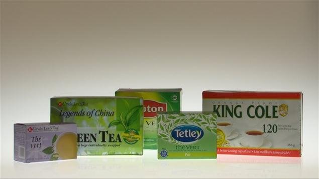 Les cinq marques de thé dont les teneurs en pesticides dépassent encore les limites maximales de résidus.