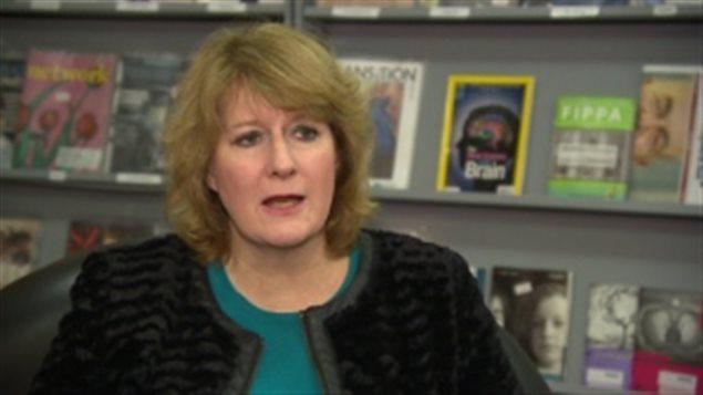 Tara Brousseau Snider, directrice générale de l'Association des troubles de l'humeur du Manitoba