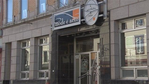 Le Petit théâtre est situé sur la rue Saint-Vallier
