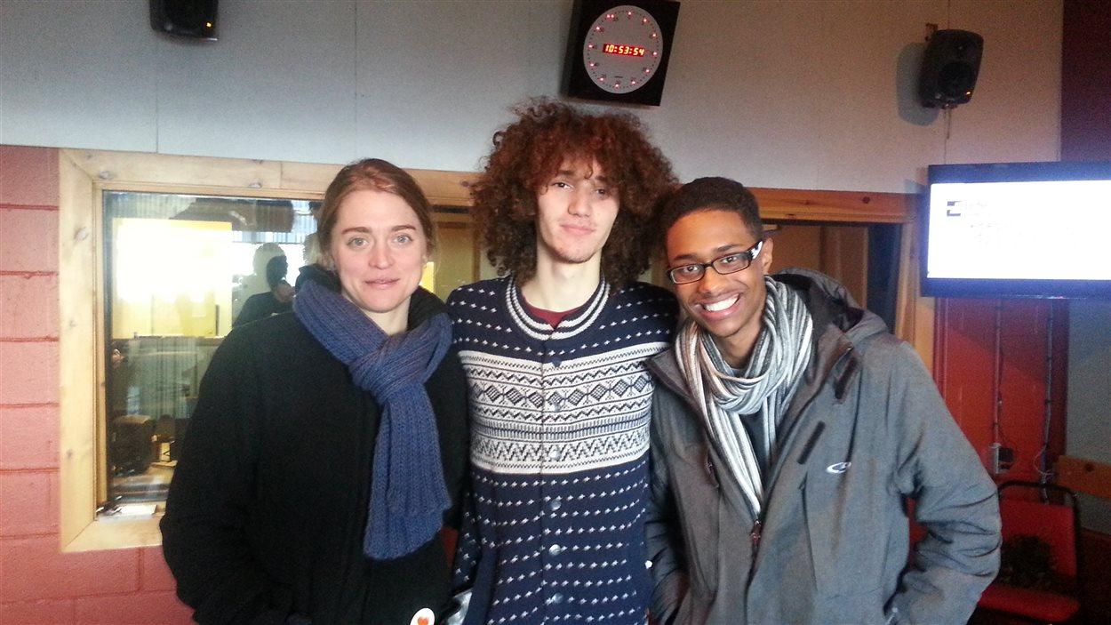 Catherine Duranleau, Alexandre Fontaine et Jamma Jamma