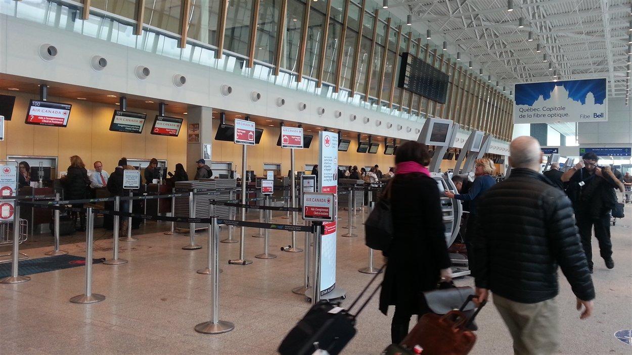 L'achalandage a connu une hausse de 9,9% en 2012 à l'aéroport international Jean-Lesage.