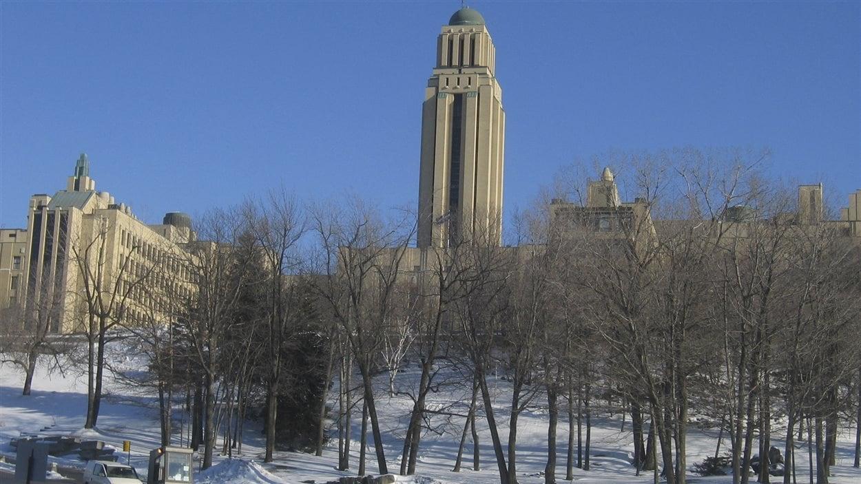 L'Université de Montréal l'hiver