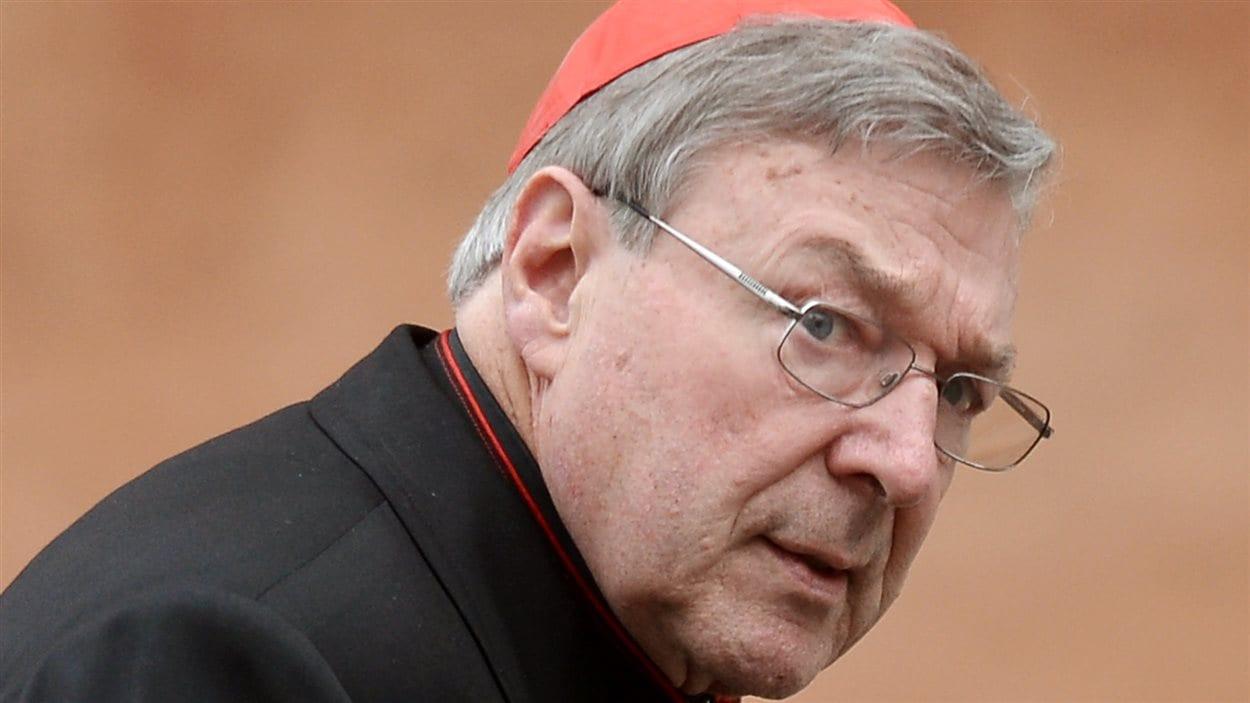 George Pell, ministre des Finances du pape François, au Vatican