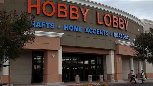 Hobby Lobby est l'une des trois entreprises qui ont sollicité une décision de la Cour suprême.
