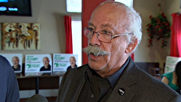 Le chef de la communauté algonquine hors-réserve de Fort-Coulonge,Roger Fleury,