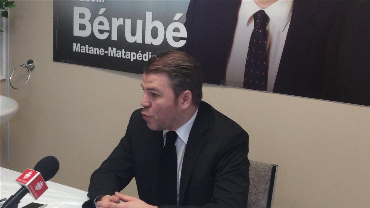 Le candidat du PQ dans Matane-Matapédia, Pascal Bérubé