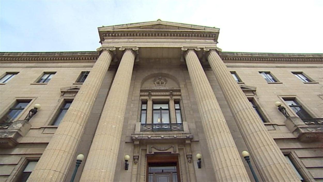 Le Palais législatif du Manitoba.