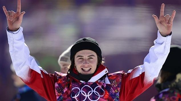 Mark McMorris a également remporté une médaille de bronze aux Jeux olympiques de 2014